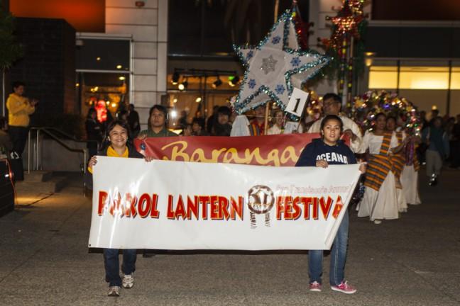 The Parol Lantern Festival in SoMa. Photo courtesy of MC Canlas.
