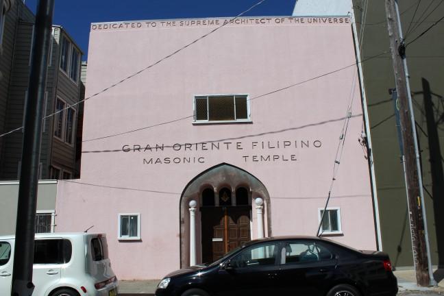 The Gran Oriente building. Photo courtesy of MC Canlas.