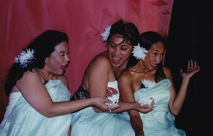 Bindlestiff Pinay Collective. Lorna Velasco was Co-founder of the all women sketch comedy troupe Bindlestiff Pinay Collective. (San Francisco, 2000-2003)