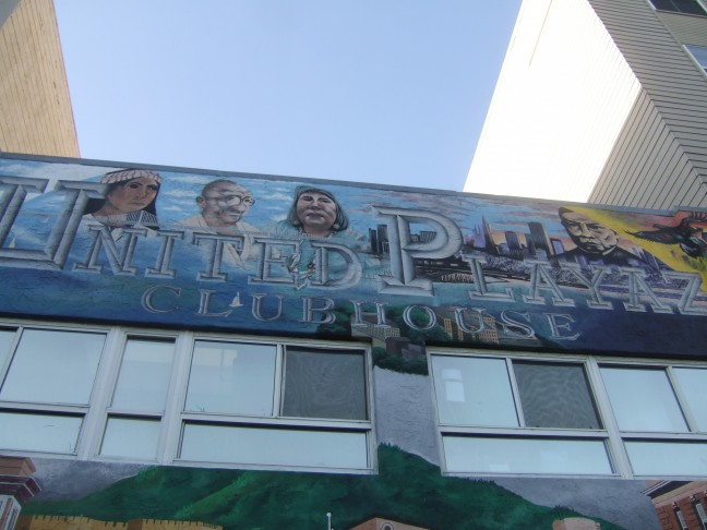 The outside of United Playaz in San Francisco. Photo by Lauren Lola.