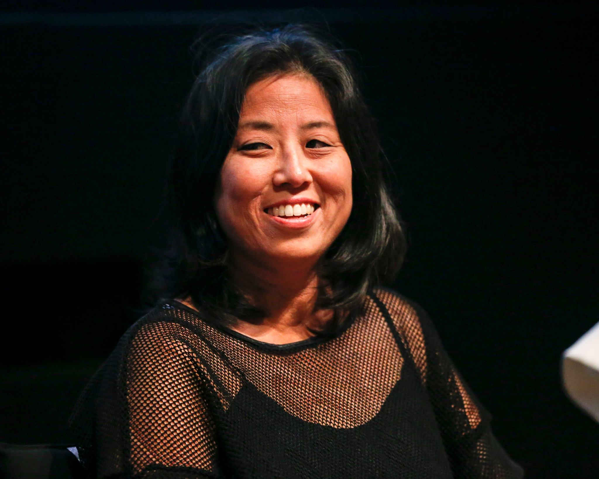 Director Grace Lee (American American Revolutionary: The Evolution of Grace Lee Boggs). Photo by Rich Polk/Getty Images.