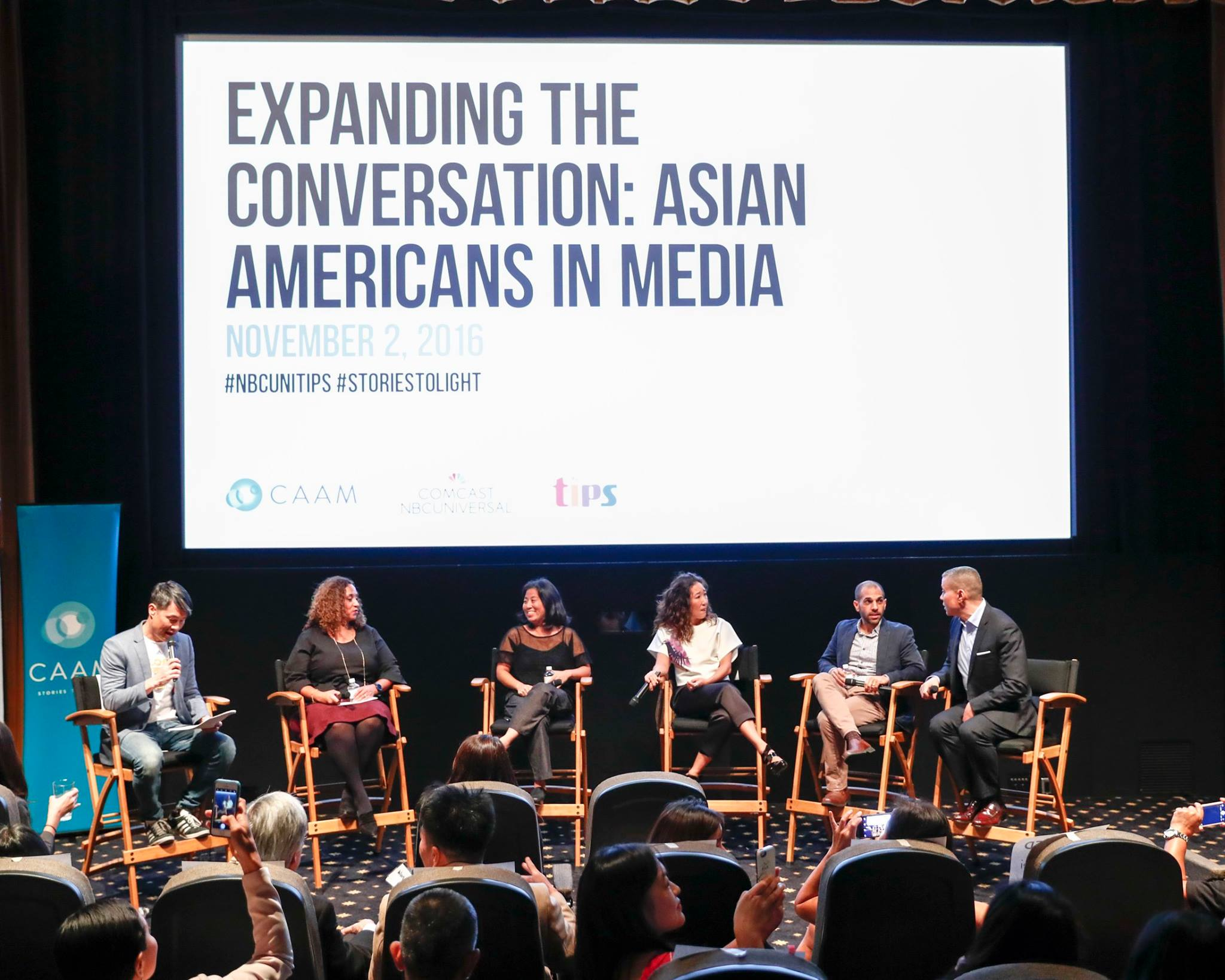 asian american media milestones in caam home alanhead2 expanding the conversation asian americans in media panel photo by rich polk getty