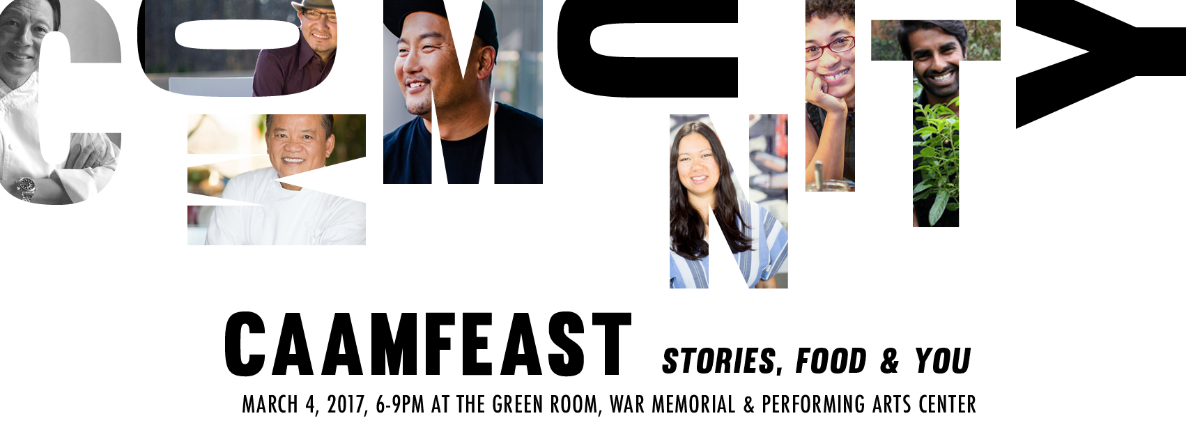 CAAMFeast17 Save the Date