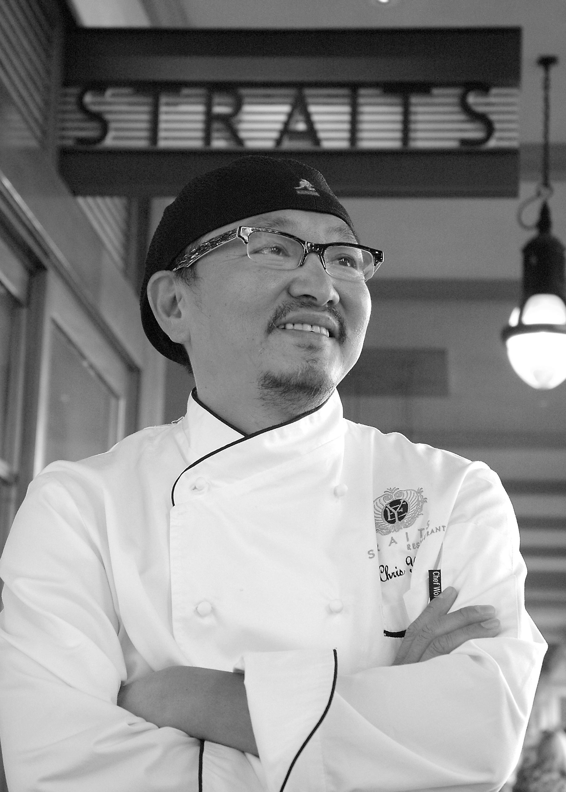 Chef Chris Yeo, co-founder of Asian Chefs Association. Photo by Ray Grefe.