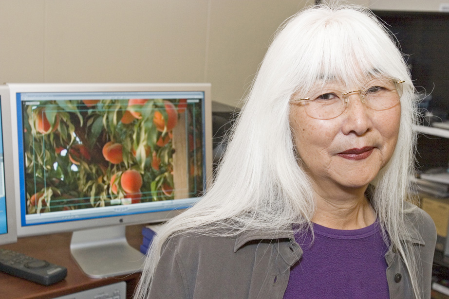 "Emiko Omori, the filmmaker behind ""Rabbit in the Moon."""
