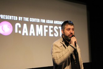 """Cries from Syria"" director Evgeny Afineevsky at CAAMFest."