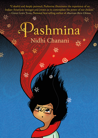 """Cover of """"Pashmina."""""""