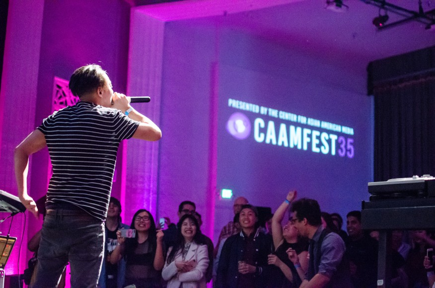 DANakaDAN performs at CAAMFest 2017's Directions in Sound music showcase. Photo by Kenni Camota for CAAM.