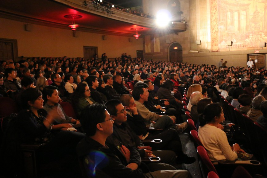 Closing Night at Castro Theater March 19, 2017. Photo by Erina Alejo for CAAM.
