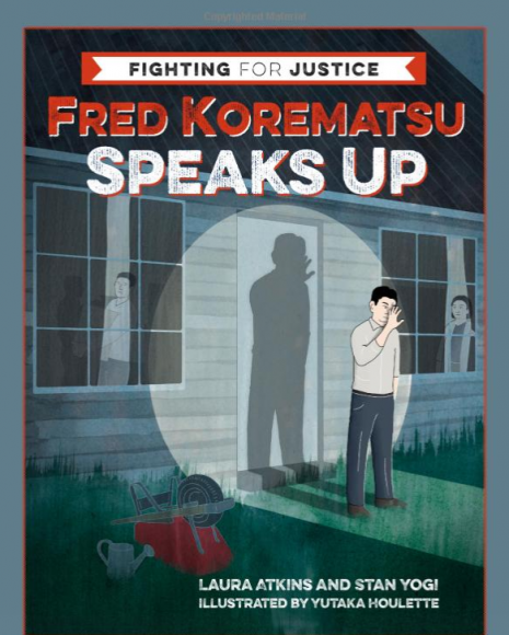 """Cover of """"Fred Korematsu Speaks Up."""""""