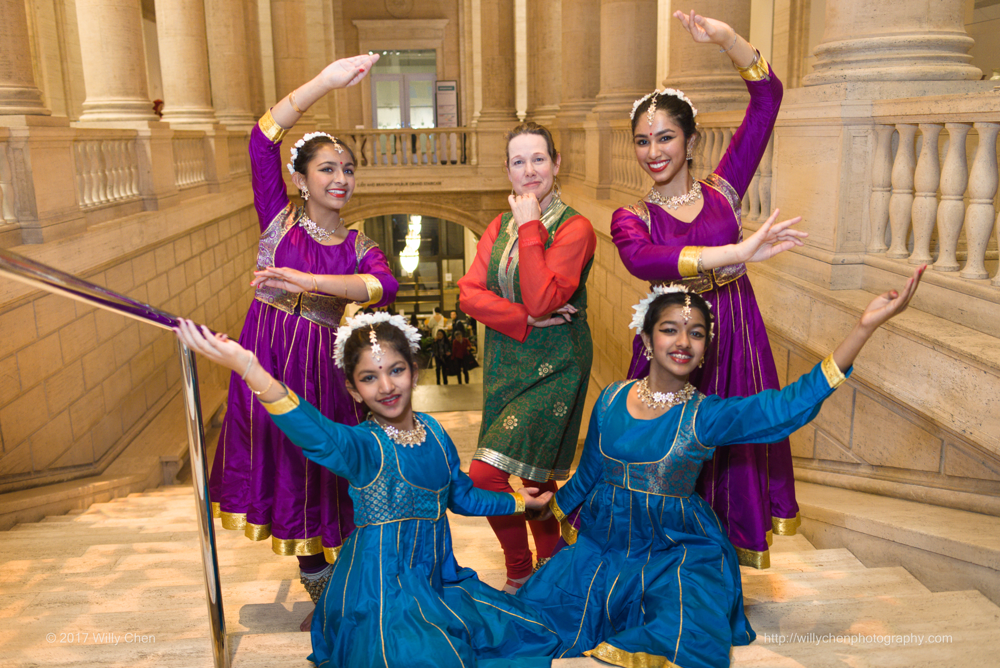 Chitresh Das Institute performed Indian classical dance Opening Night on March 9, 2017. Photo by Willy Chen for CAAM.
