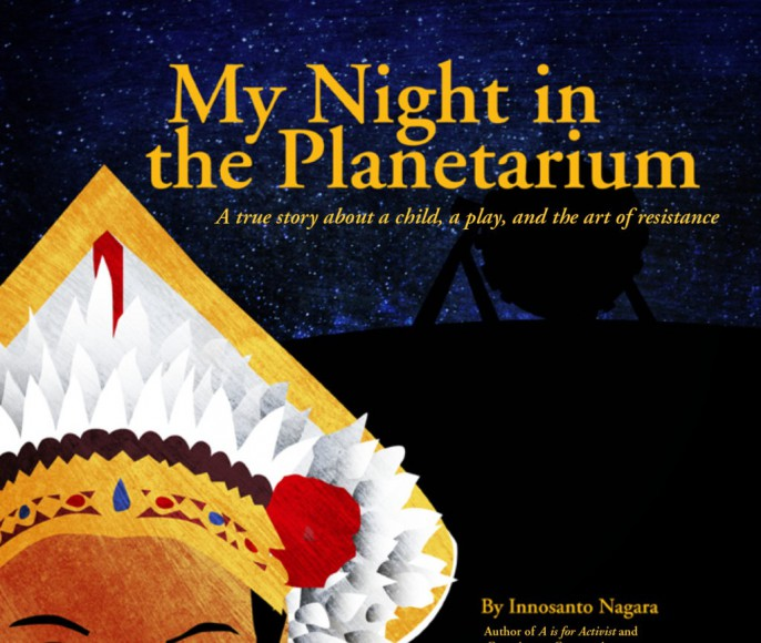 """Cover of """"My Night at the Planetarium."""""""