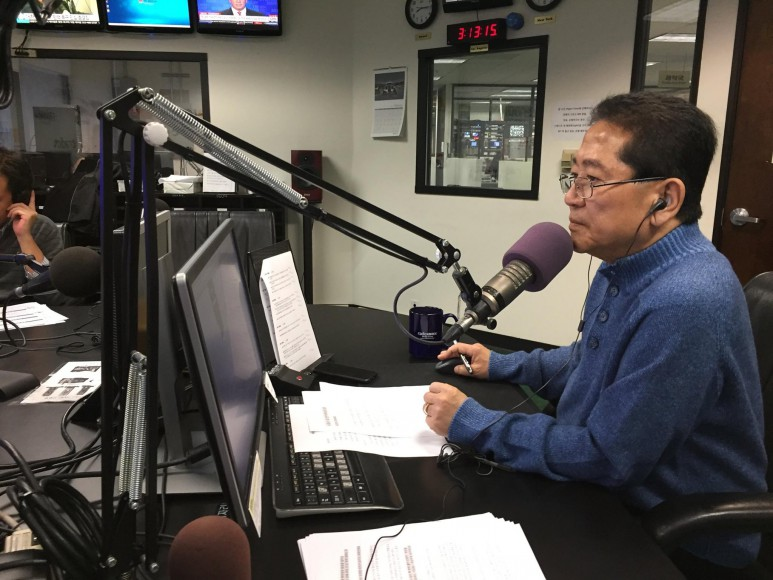 When mainstream media and city services failed to cover Koreatown during the 1992 LA riots, Choi Young Ho and his colleagues from Radio Korea turned their regular programming into a 24 hr hotline/news for the Korean-speaking community, fielding calls from eyewitnesses from across the city.