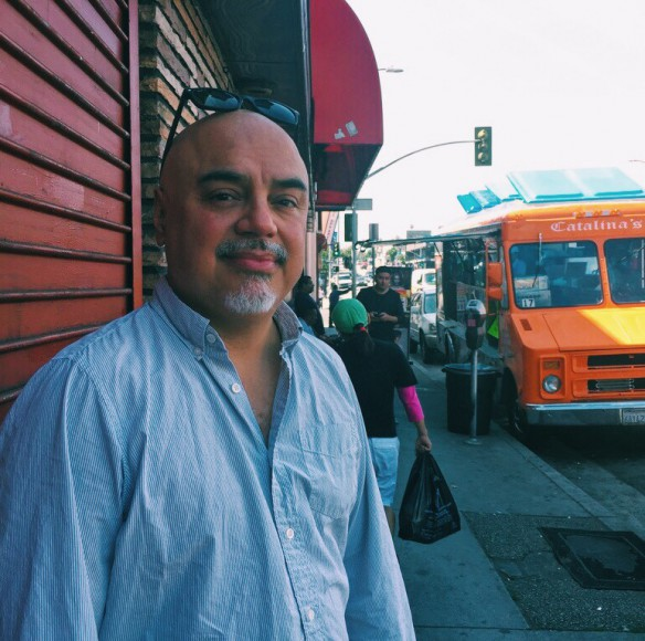 """Hector Tobar covered the Rodney King beating and riots for the """"Los Angeles Times."""""""