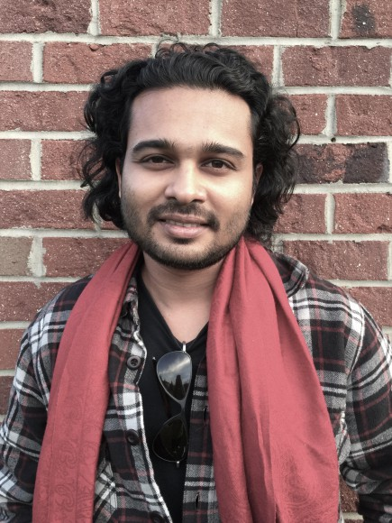 Rishi Bhilawadikar, writer of FOR HERE OR TO GO