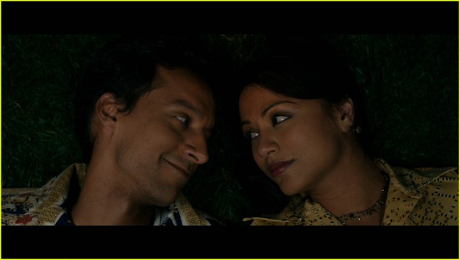 "Danny Pudi and Karen David co-star in Lena Khan's ""The Tiger Hunter,"" opening in theaters Friday, September 22, 2017."