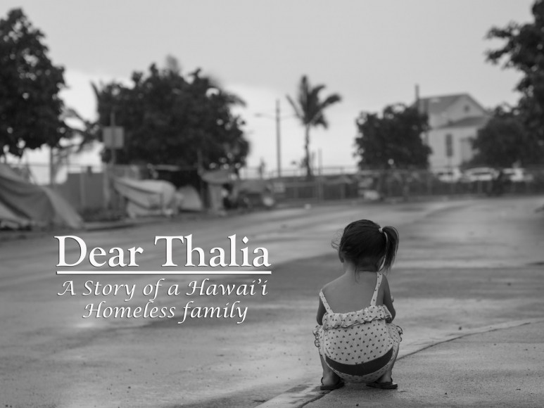 With the aid of a GoPro shot over the course of four months, the Martin family shows what it's like to be homeless  in Kakaako, Oahu. Directed by Rex Moribe.