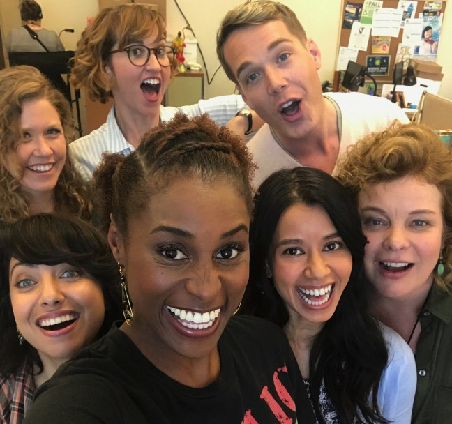 """The cast of HBO's """"Insecure"""""""
