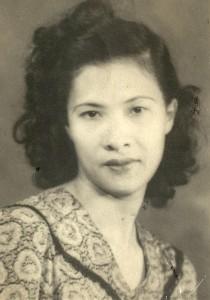 Jamaica 1940s -- Nell Vera Lowe Williams, Paula Madison's mother.