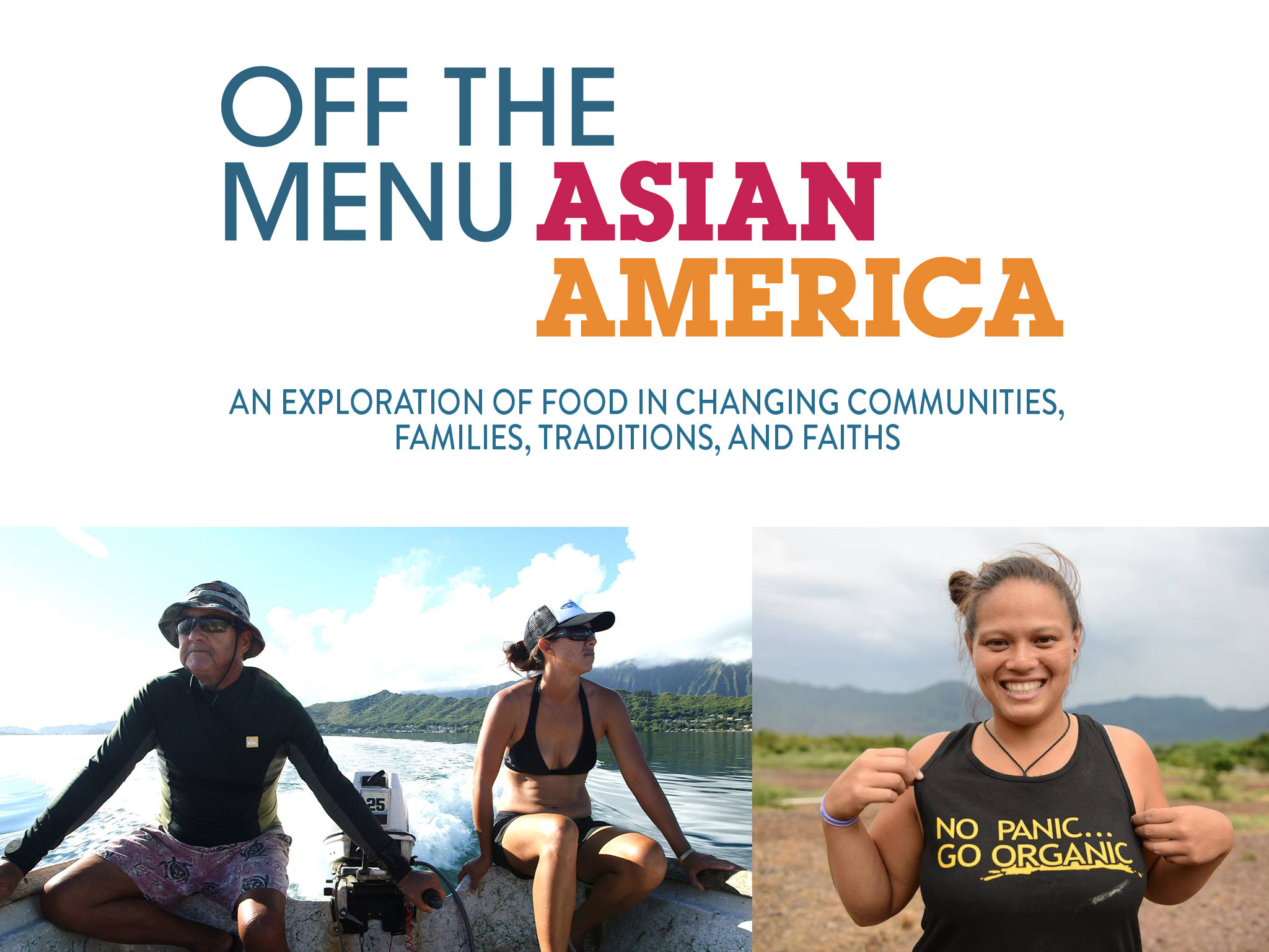 From the Gulf Coast of Texas to the heartland of Wisconsin to New York's Lower East Side and beyond, OFF THE MENU: Asian America delves into a wealth of stories, traditions, and unexpected characters that explore what it means to be Asian American today. Directed by Grace Lee, co-produced by CAAM and KQED.