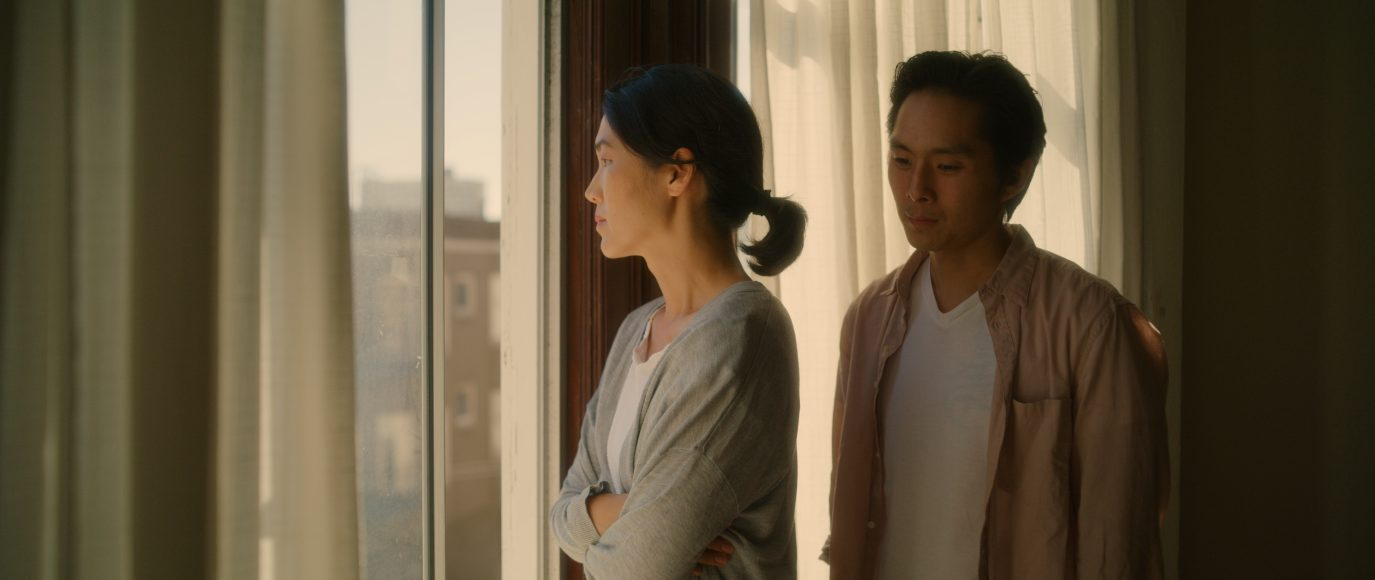 "Justin Chon and Jackie Chung stars in the Wayne Wang-directed ""Coming Home Again,"" produced by CAAM."