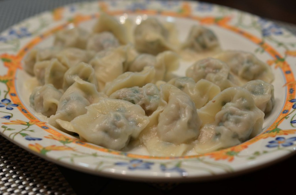 Dumplings by Theresa Lin. Photo by Clarissa Wei.