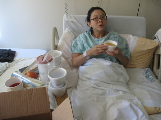 Hospital meals don't compare to traditional postpartum food for writer Sharline Chiang