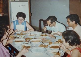 Tara Dorabji's parents and family.