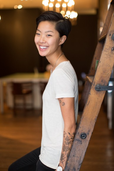 Kristen Kish, 'Top Chef' Winner and former Chef de Cuisine at Menton. Photo by Christopher Lane.