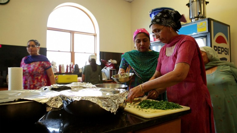 """""""The Kitchen is the heart of the temple..."""" Grace Lee visits the Sikh Temple of Wisconsin in """"Off the Menu: Asian America."""""""